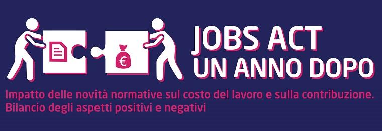 jobs act un anno dopo