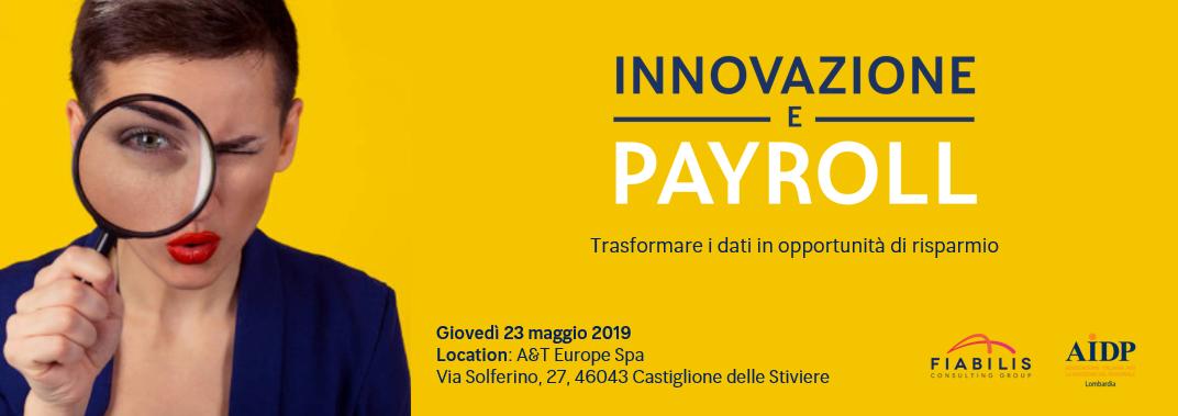 innovazione e payoll